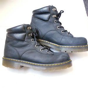 Doc Martens Burnham 6 hole industrial boots